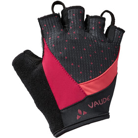 VAUDE Advanced II Gloves Women crimson red
